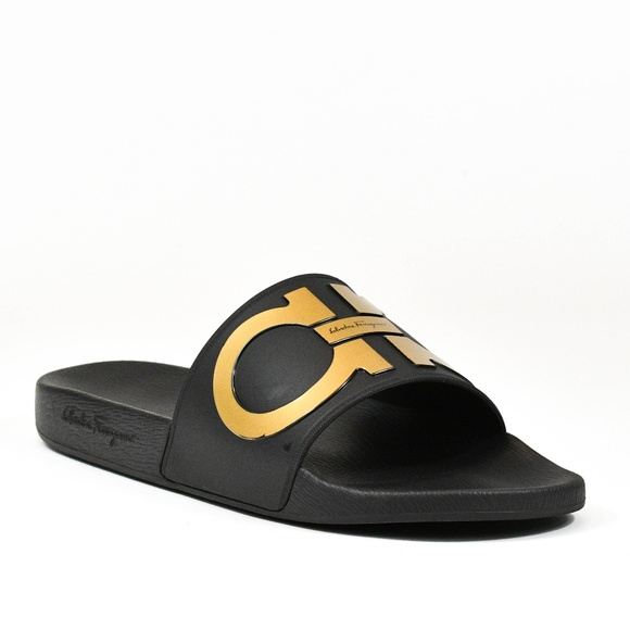 98da5a2bd Salvatore Ferragamo Shoes | Mens Groove 2 Syn Slide Sandal | Poshmark